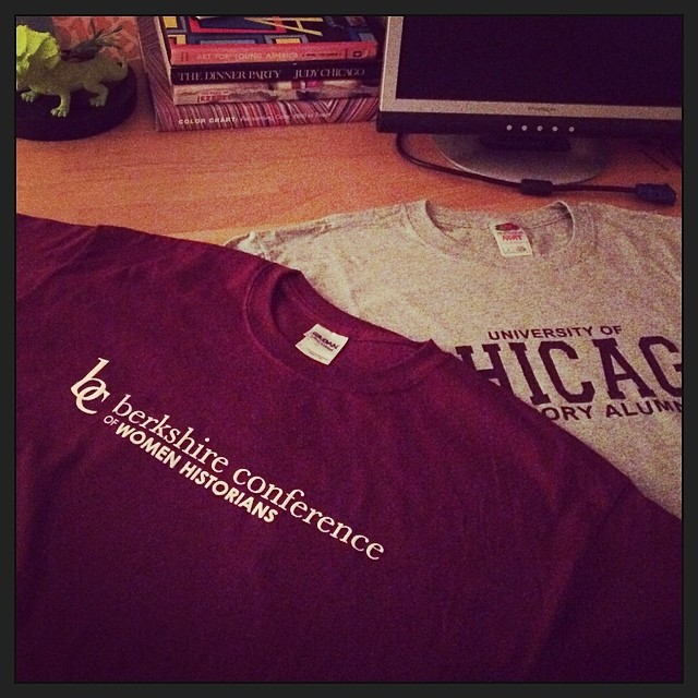 I went to graduate school and all I got ...were these t-shirts?
